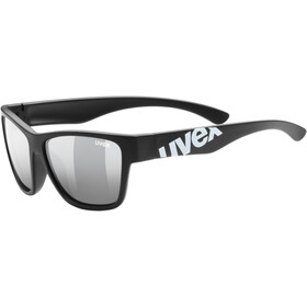 UVEX Sportstyle 508 Glasses Kids, black mat/silver